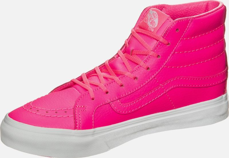 VANS 'Sk8-Hi Slim Neon' Leather Sneaker Damen
