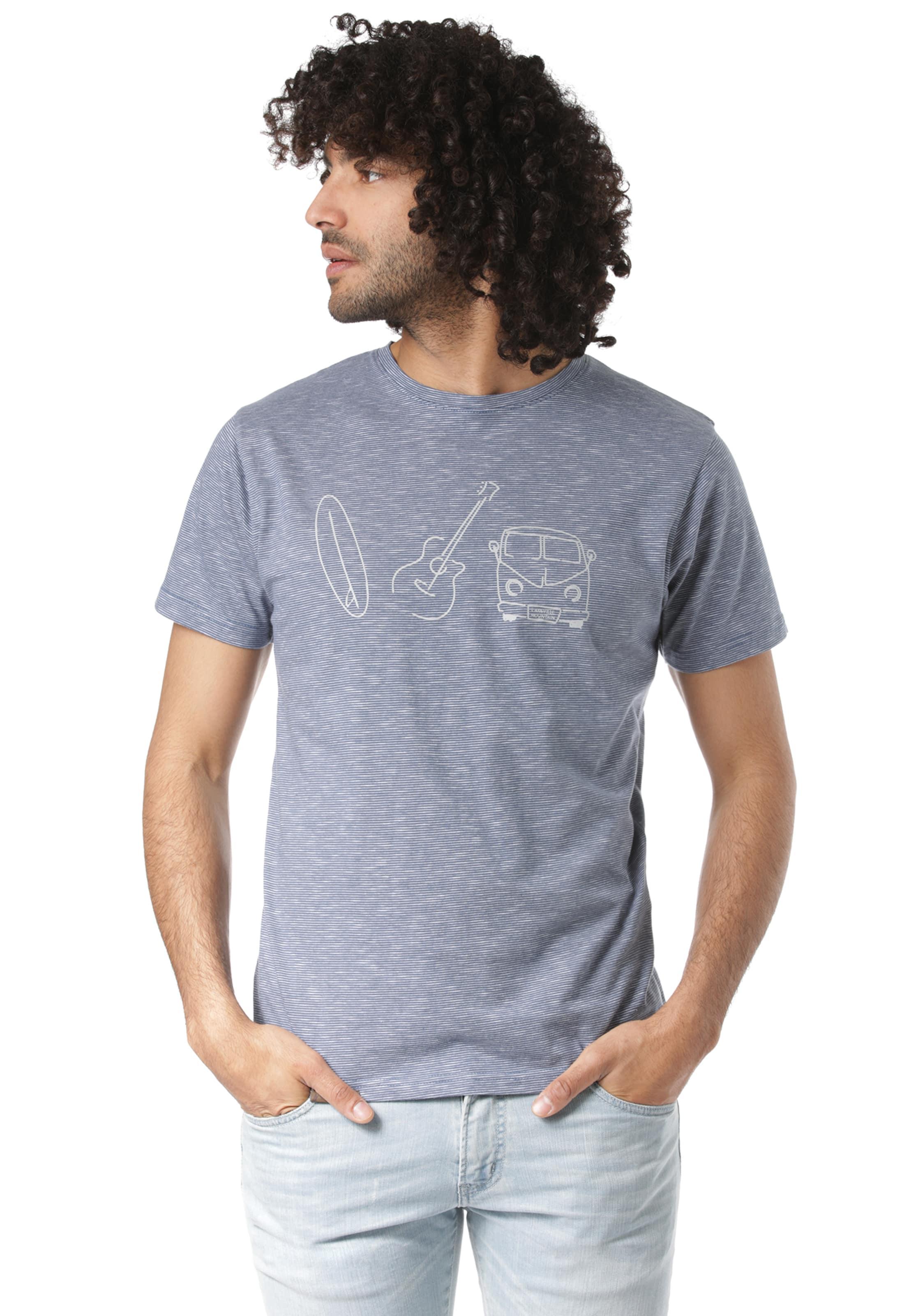 'mano' T Mountain Lakeville shirt In TaubenblauWeiß yvN8wOn0m