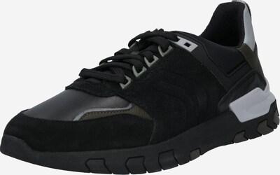 GEOX Niske tenisice u kaki / crna, Pregled proizvoda
