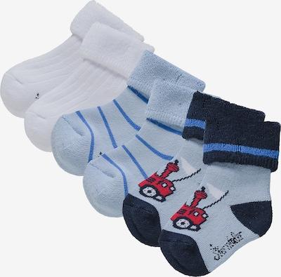STERNTALER Socken in blau: Frontalansicht