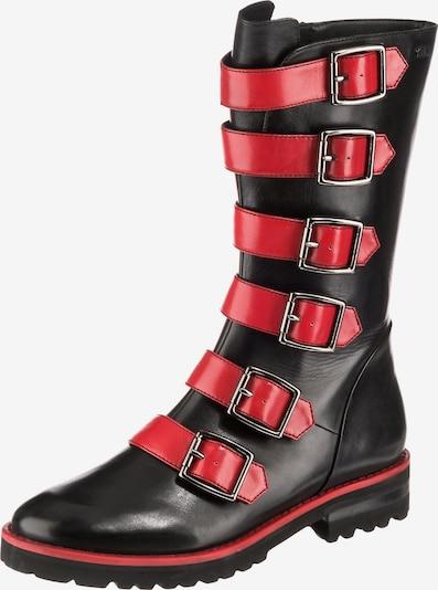 tizian Stiefel 'Dallas 207' in rot / schwarz, Produktansicht