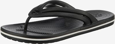 fekete Crocs Ujjelválasztó-pántos szandál 'Crocband', Termék nézet