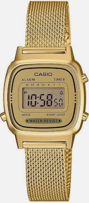 CASIO Quarzuhr 'LA670WEMY-9EF' in gold, Produktansicht