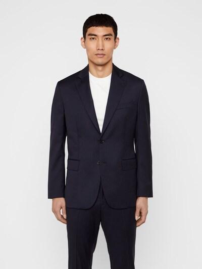 J.Lindeberg Donnie Wool Blazer in dunkelblau: Frontalansicht