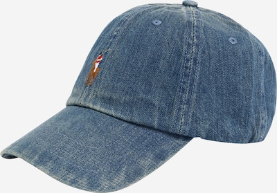 POLO RALPH LAUREN Cap in blue denim / grau, Produktansicht