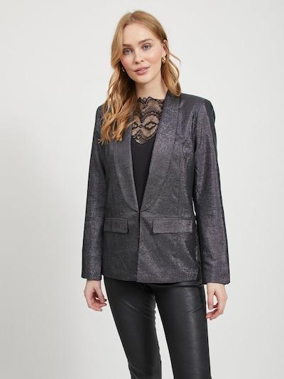VILA Blazer in schwarz / silber, Modelansicht