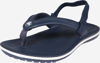 Crocs Schuhe 'Crocband Strap Flip K' in navy, Produktansicht