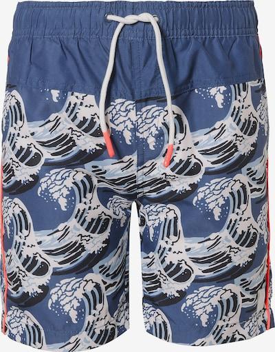 TUMBLE N' DRY Badeshorts 'FLAMGO' in blau, Produktansicht