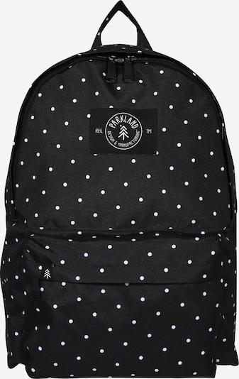 PARKLAND Rucksack in schwarz / weiß, Produktansicht