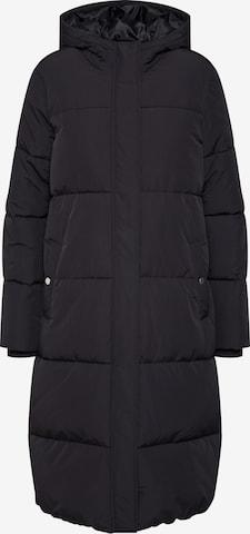 ABOUT YOU Płaszcz zimowy 'Erin' w kolorze czarny
