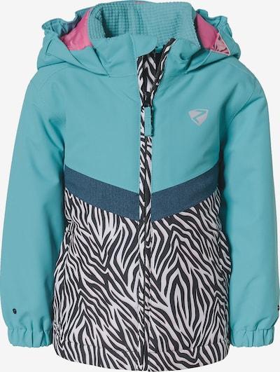 ZIENER Skijacke 'Amai' in hellblau / schwarz / weiß, Produktansicht