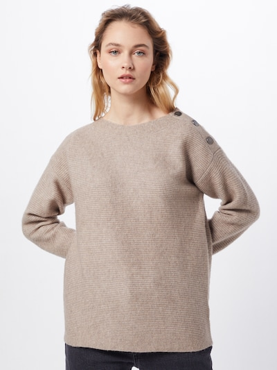 ESPRIT Pullover  'sweater struct' in beige, Modelansicht