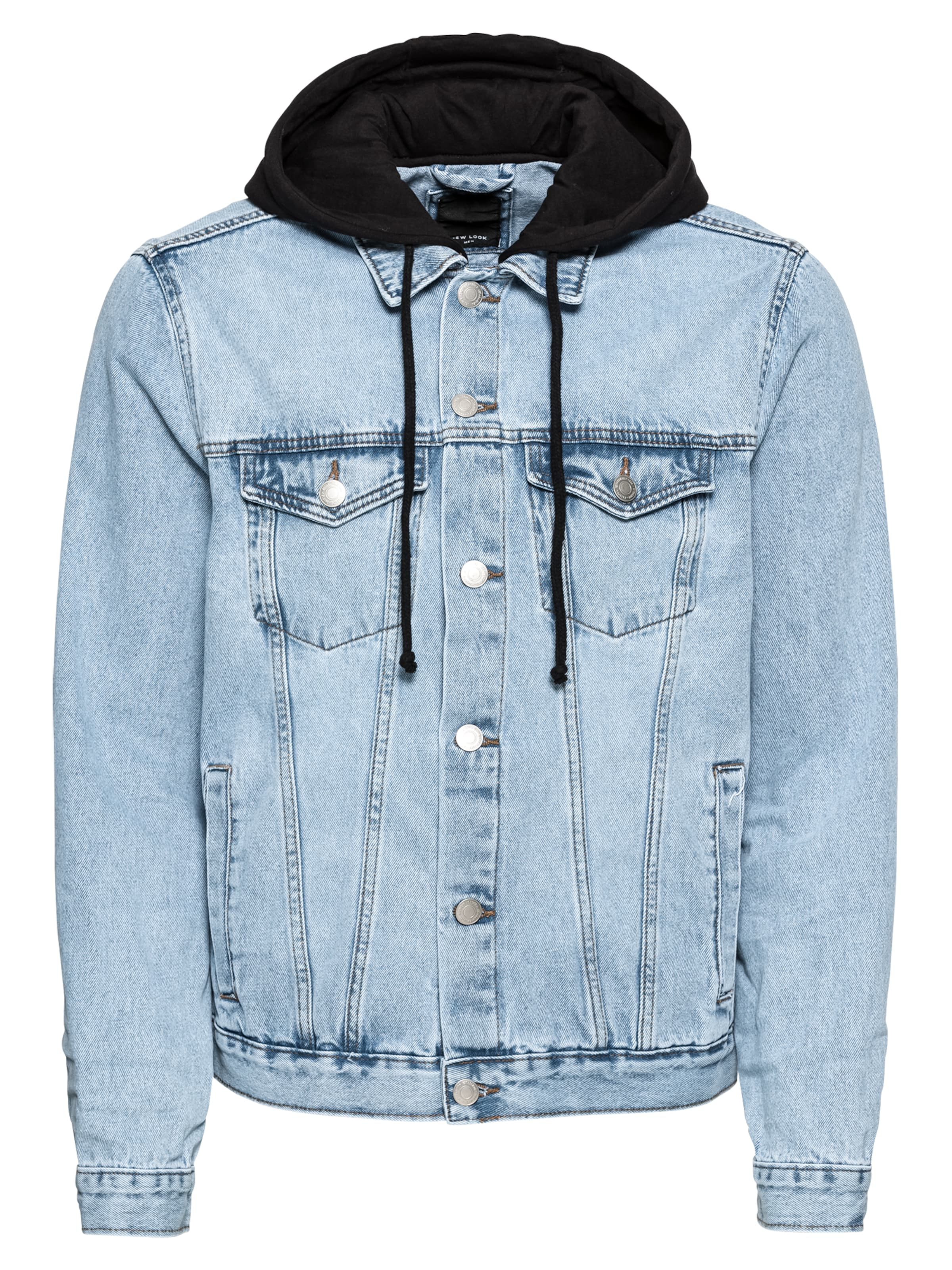 Outlet New Look Tussenjas Rp Trans 02 02 2018 Denim Jacket With