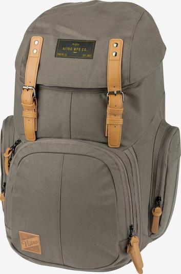 NitroBags Rucksack in dunkelgrau / schwarz, Produktansicht