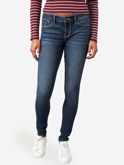 HOLLISTER Jeans in de kleur Blauw denim, Modelweergave