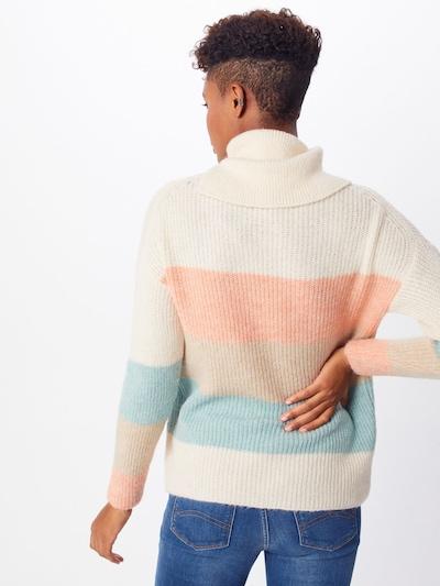 ONLY Pulover   svetlo modra / puder / svetlo roza / bela barva: Pogled od zadnje strani
