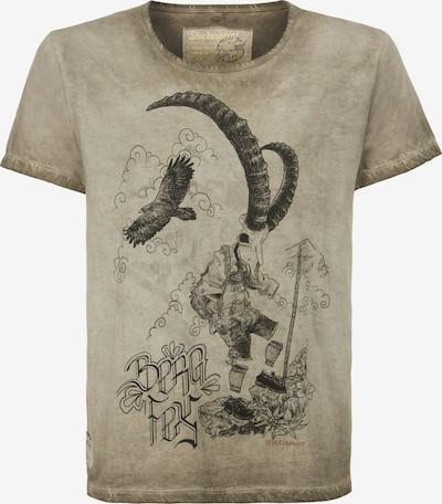 STOCKERPOINT Shirt 'Bergfex' in sand: Frontalansicht