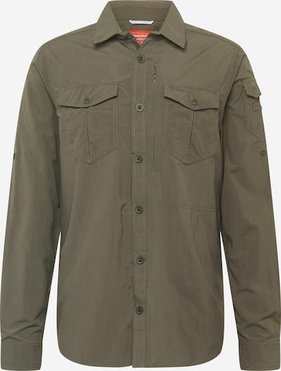 CRAGHOPPERS Functional shirt 'Adv' in dark green, Item view