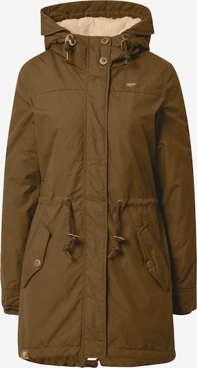 Ragwear Winterparka 'Elba' in de kleur Olijfgroen, Productweergave