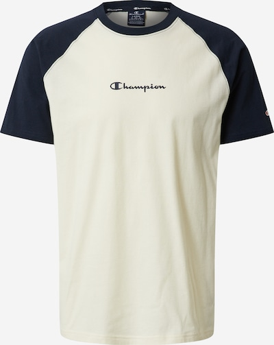 Champion Authentic Athletic Apparel T-Shirt in navy / offwhite, Produktansicht