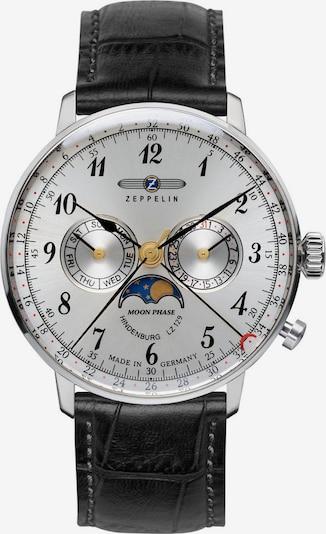 Zeppelin Uhr 'Hindenburg' in schwarz / silber, Produktansicht