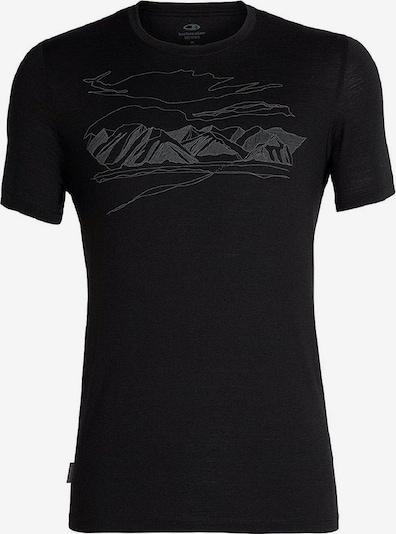 Icebreaker T-shirt in schwarz, Produktansicht