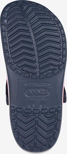 Crocs Pantolette 'Crocband' in navy: Ansicht von unten
