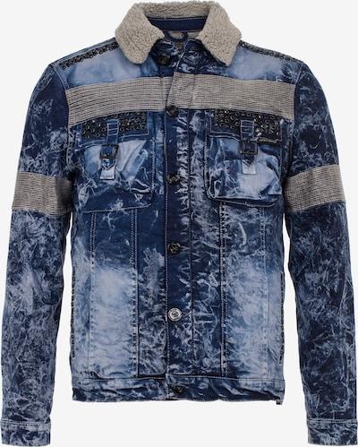 CIPO & BAXX Jacke in blau / opal / hellblau / grau, Produktansicht
