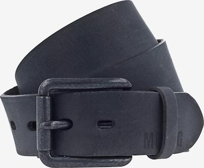 MUSTANG Gürtel in schwarz: Frontalansicht