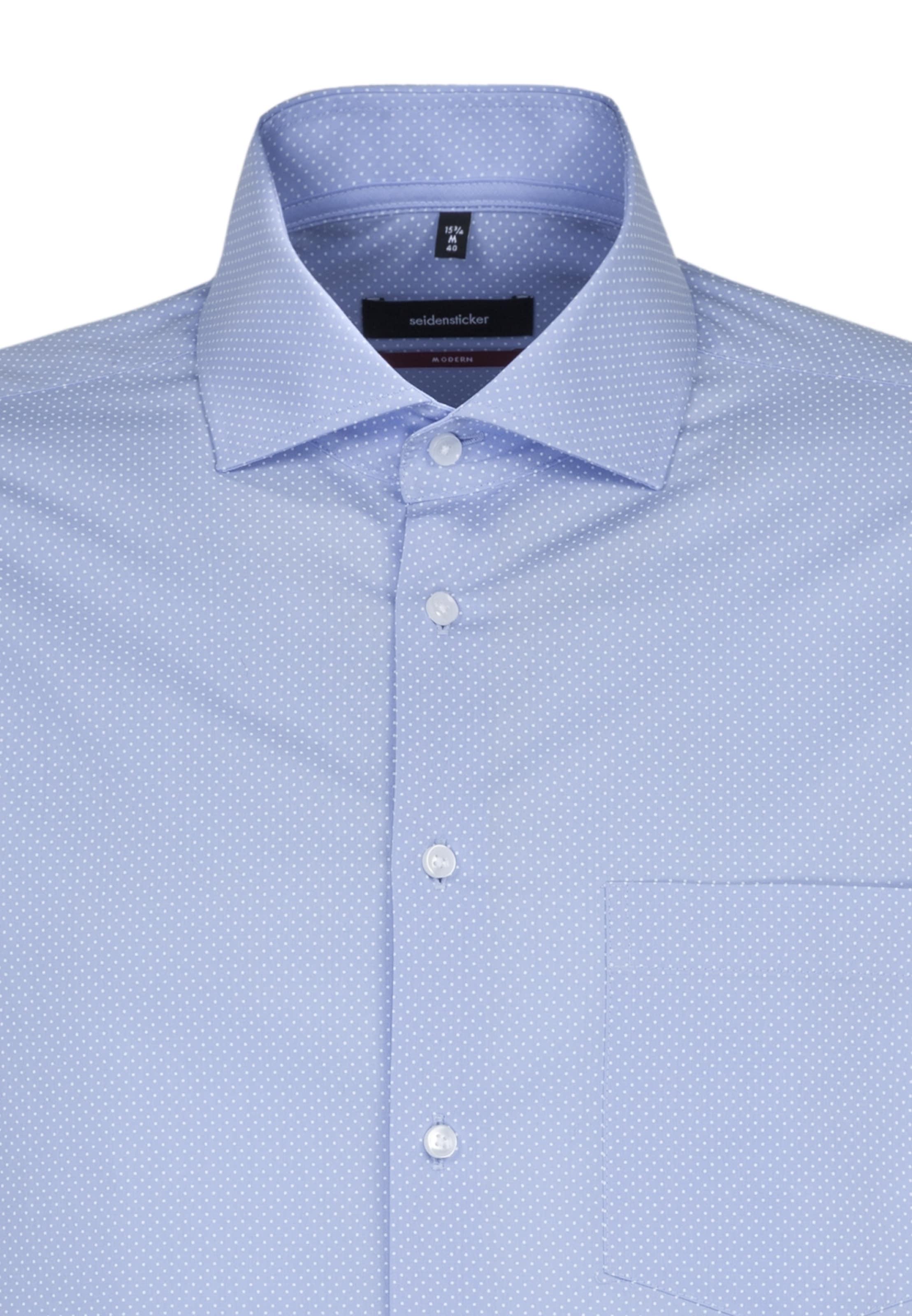 Seidensticker Hemd In Hemd Hemd Seidensticker Seidensticker In RauchblauWeiß RauchblauWeiß In 45LAjc3Rq