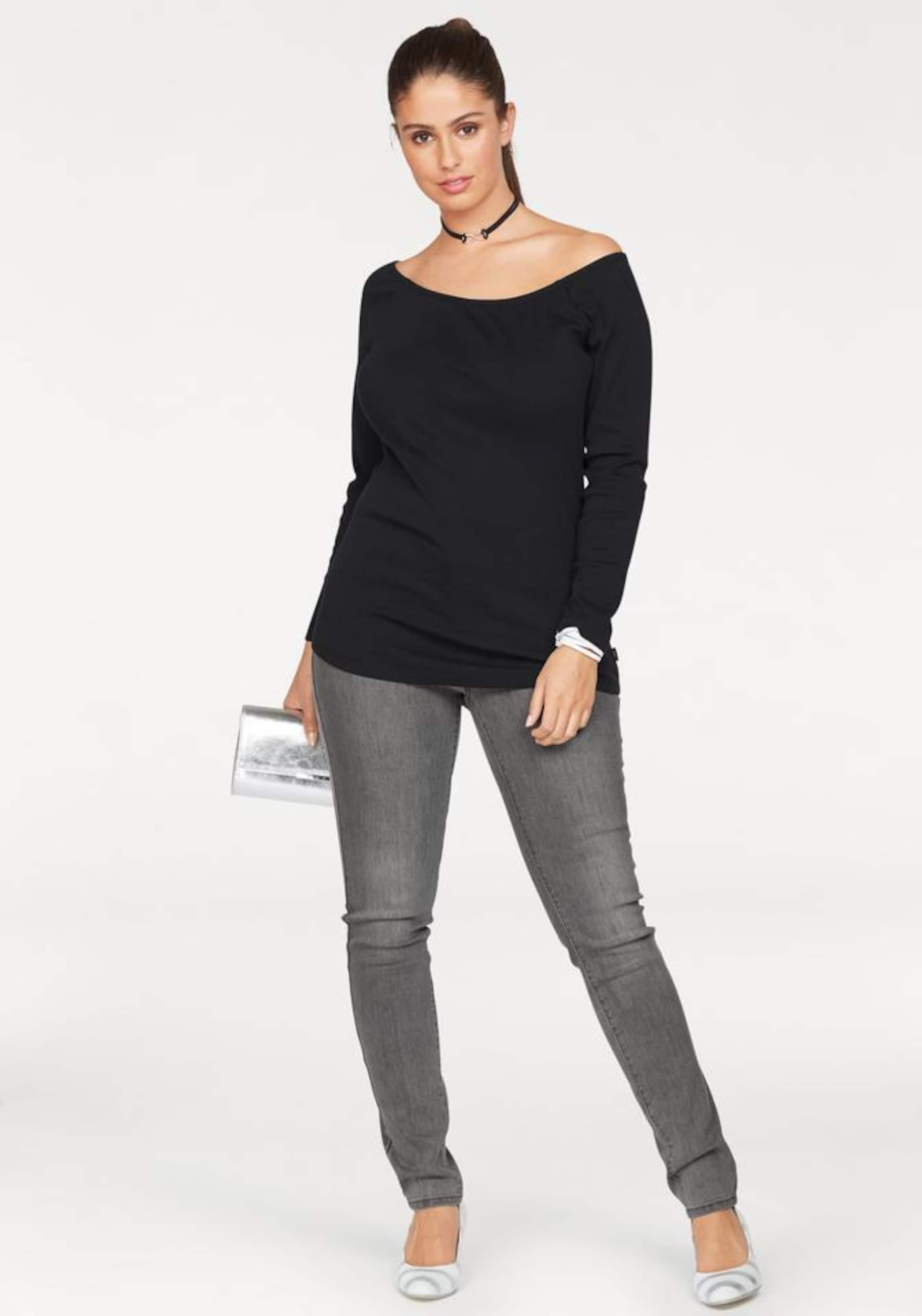 Räumungsverkauf Online 100% Original ARIZONA Carmenshirt 'Off-Shoulder' Billig Verkauf Erkunden Spielraum Erstaunlicher Preis l0RhQJ
