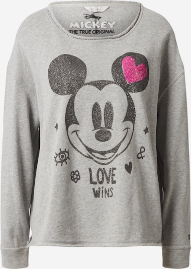 Frogbox Sweater majica 'Mickey' u siva / roza / crna, Pregled proizvoda