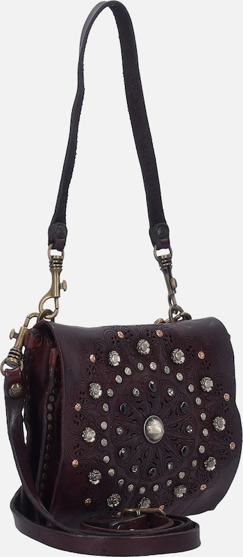 Campomaggi Prestige Mini Bag Schultertasche Leder 19 cm