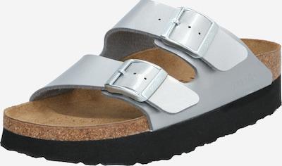 BIRKENSTOCK Slipper 'Arizona' in schwarz / silber, Produktansicht