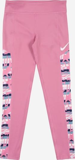 NIKE Spodnie sportowe w kolorze różowy / białym, Podgląd produktu