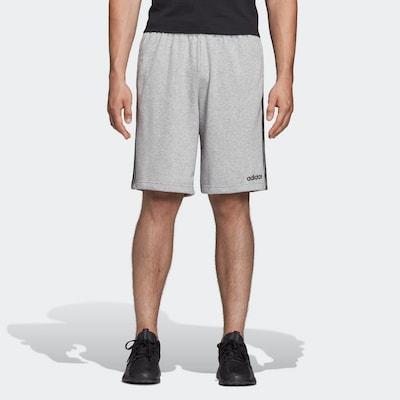 ADIDAS PERFORMANCE Shorts in graumeliert / schwarz: Frontalansicht