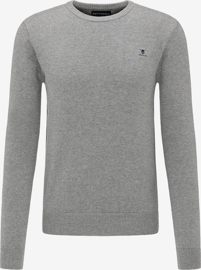 TUFFSKULL Pullover in grau: Frontalansicht