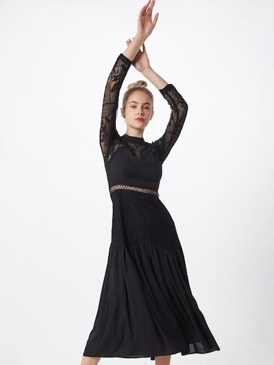 tigha Kleid 'Eliza' in schwarz: Frontalansicht