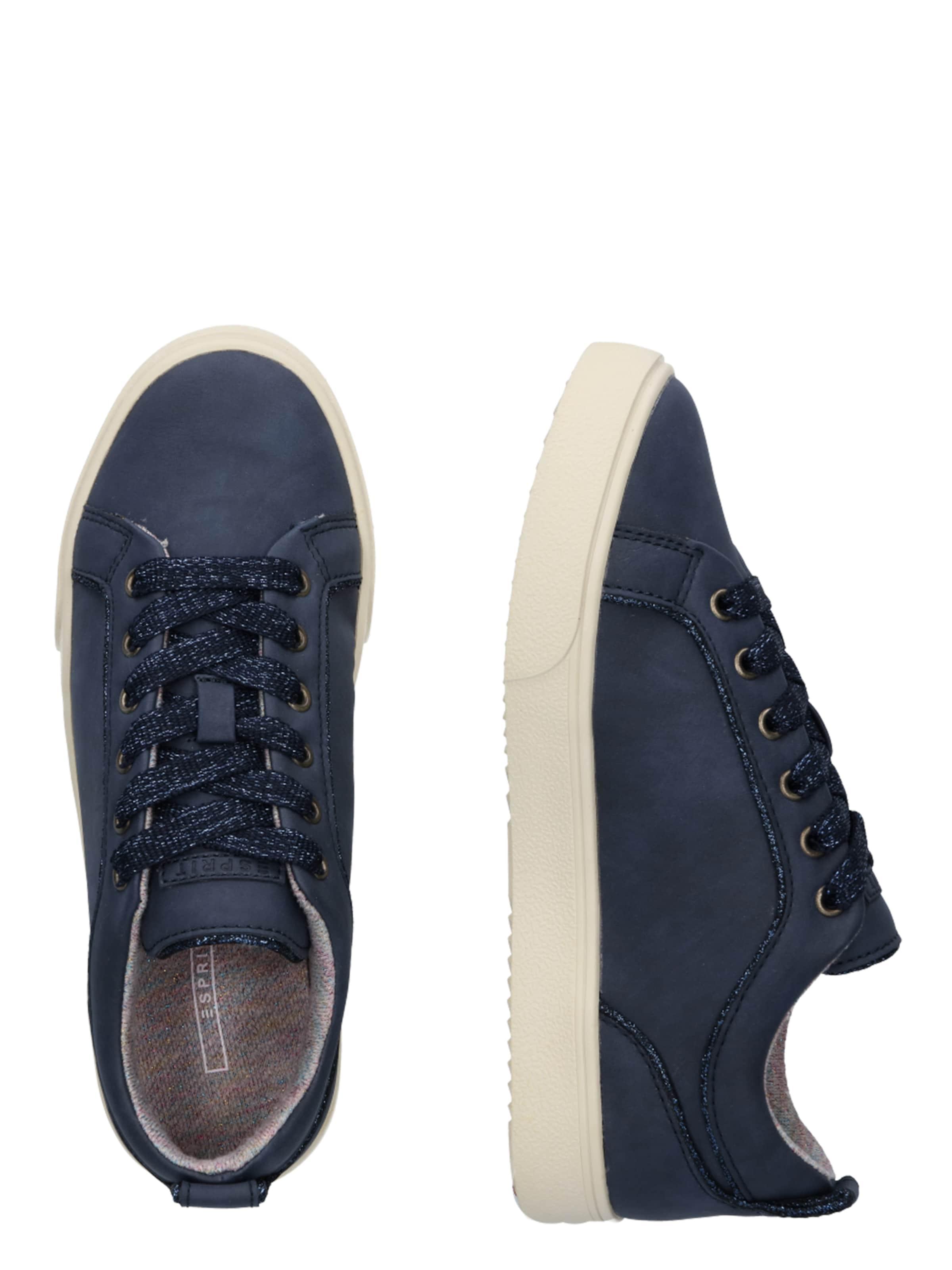 Navy Esprit Cherry In Sneakers Low vNmn0wO8