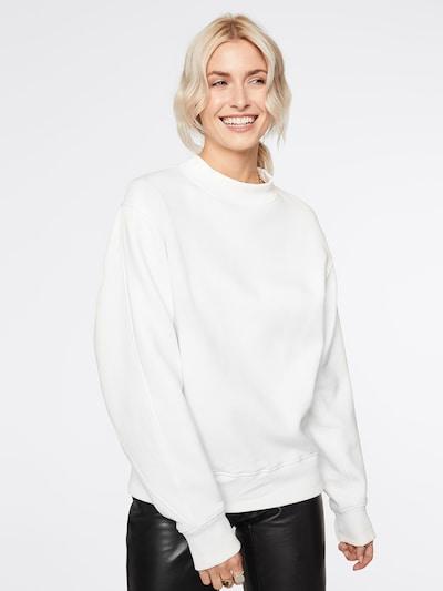 LeGer by Lena Gercke Sweatshirt 'Janne' in de kleur Offwhite: Vooraanzicht