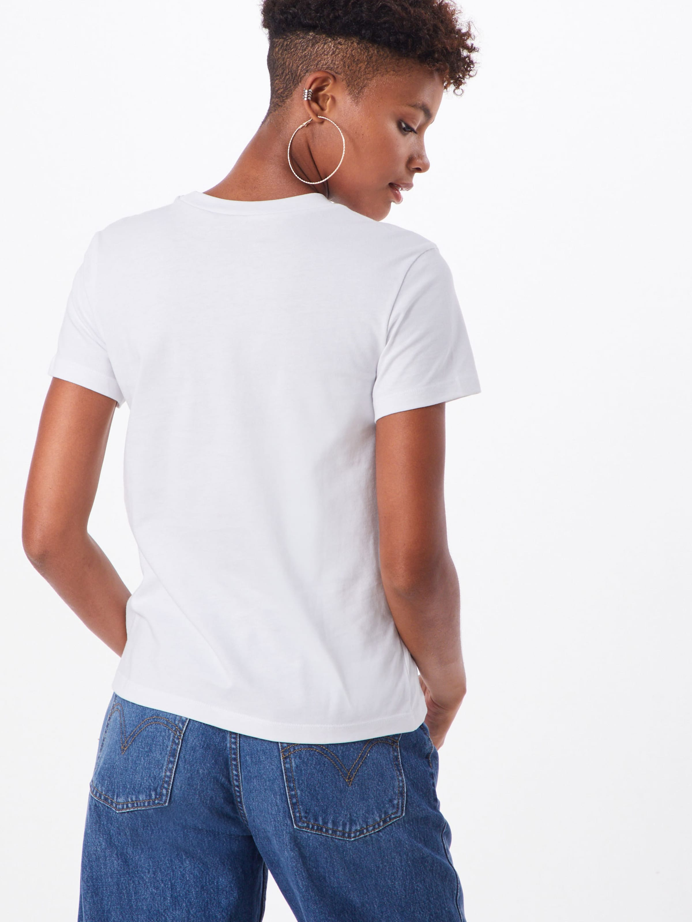 Blanc shirt 'boxed Vans T Botanic' En XPZOkiu