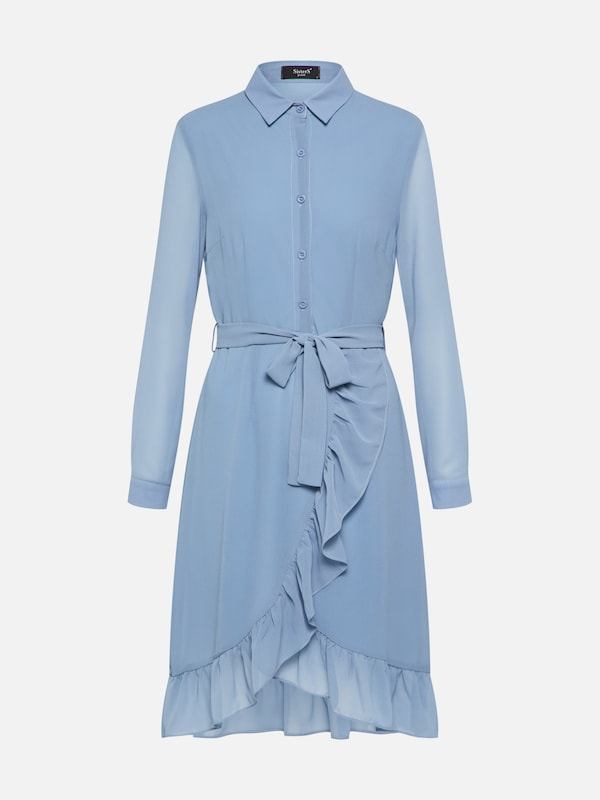 Robe Sisters Point 'nibel' En Bleu chemise UwBqwC5