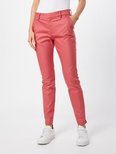 MOS MOSH Hose 'Abbey Night' in pink / rot, Modelansicht