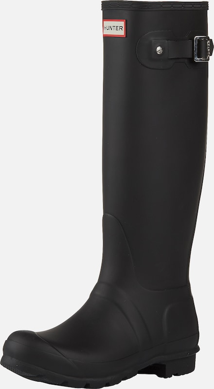 HUNTER Gummistiefel 'Womens Original Tall' in schwarz, Produktansicht