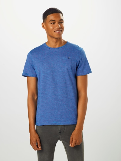 TOM TAILOR T-Shirt en bleu / rose: Vue de face