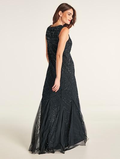 heine Robe de soirée 'Abendkleid besetzt mit dekorativen Pailletten' en noir: Vue de dos