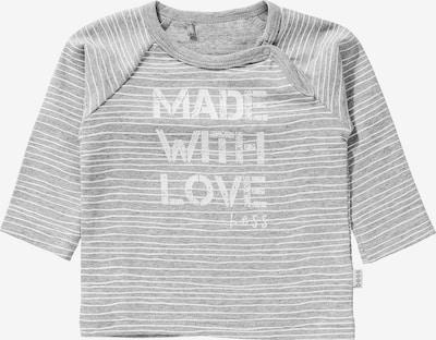 Tricou BESS pe gri deschis / alb, Vizualizare produs