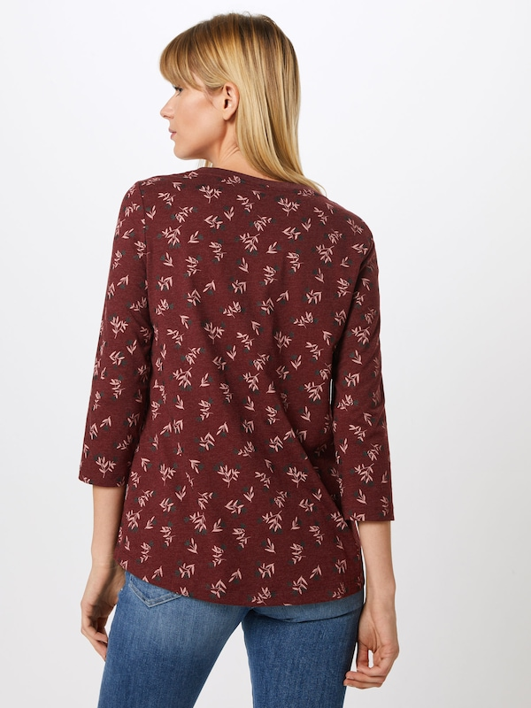 By Bordeaux shirt Edc T Esprit En PXikOZu