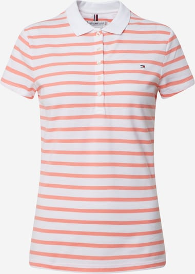 TOMMY HILFIGER Shirt in de kleur Rood / Wit, Productweergave