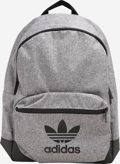 ADIDAS ORIGINALS Rucksack in graumeliert / schwarz, Produktansicht